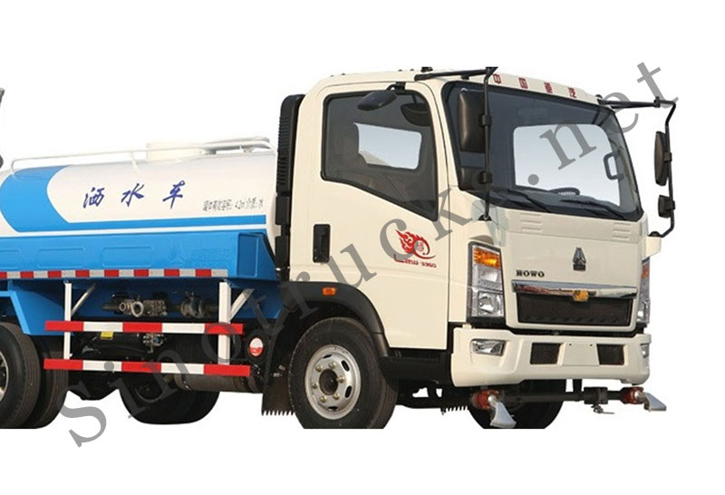 HOWO 4X2 Light Duty Small Water Truck