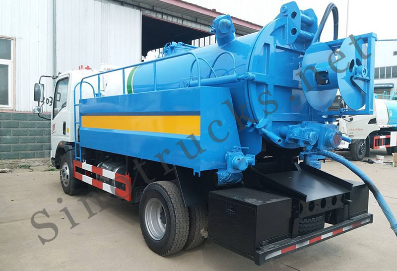 HOWO T5G Vacuum and Jetting Truck